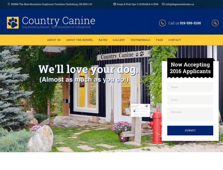 Country Canine Dog Kennel