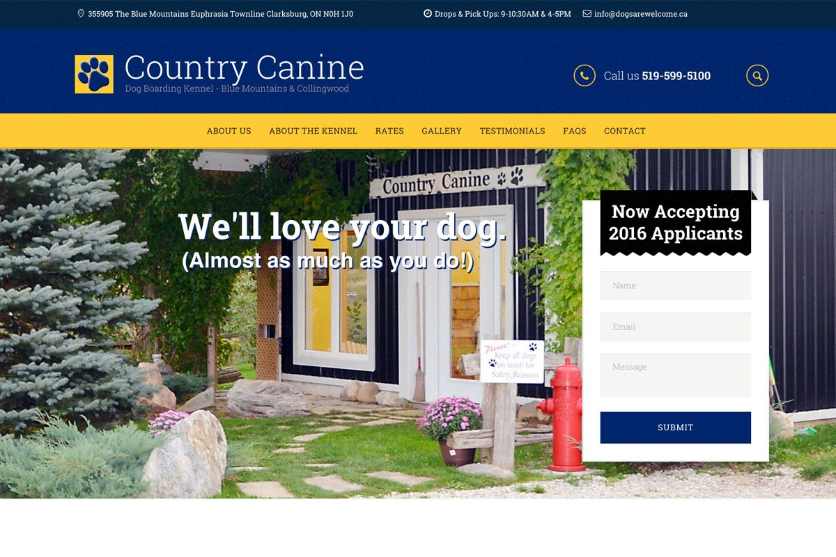 Country-Canine-Dog-Kennel-website-screenshot