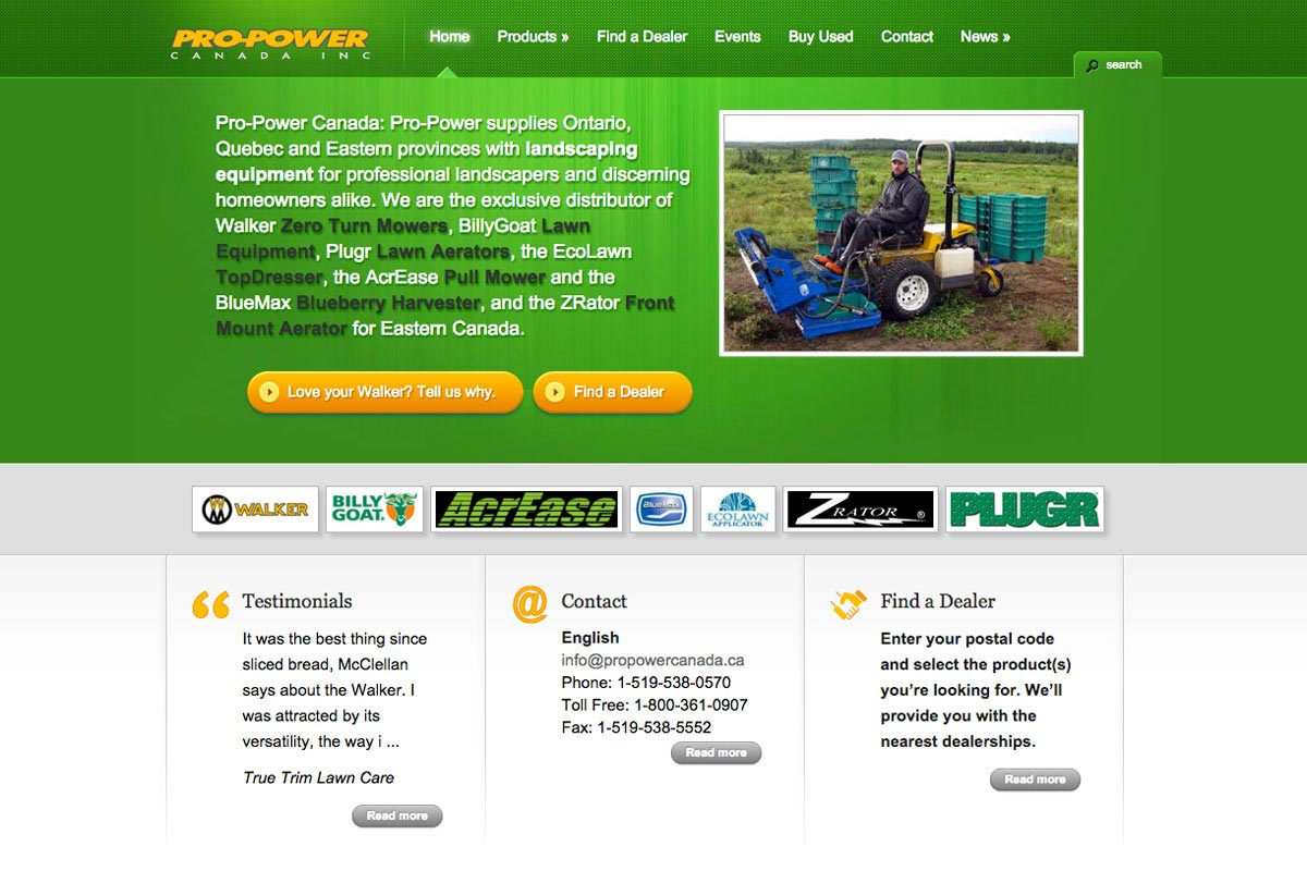 ProPower-Canada-website-screenshot