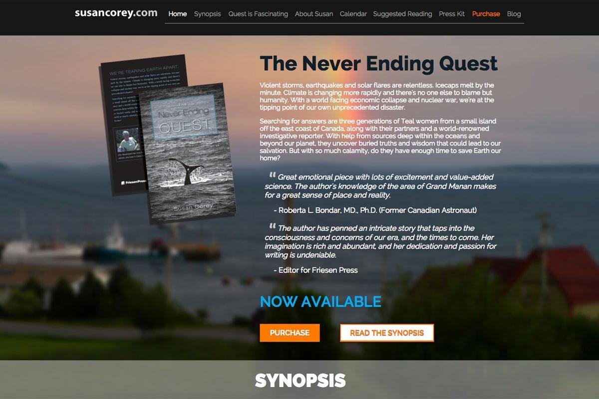 Susan-Corey-author-website-screenshot