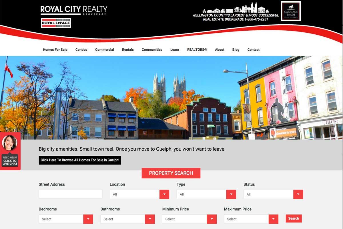 royal-city-realty-website-screenshot