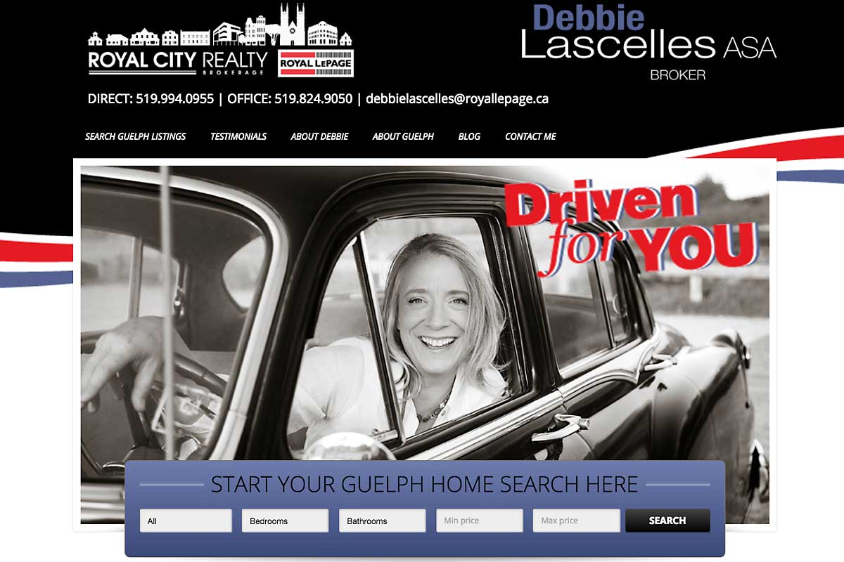 Debbie-Lascelles-Guelph-REALTOR-website-screenshot-1