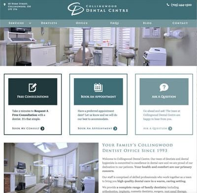 Collingwood Dental Centre Dentist Practice