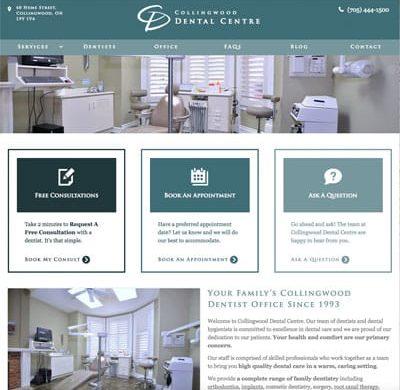 Collingwood Dental Centre Dentist Practice
