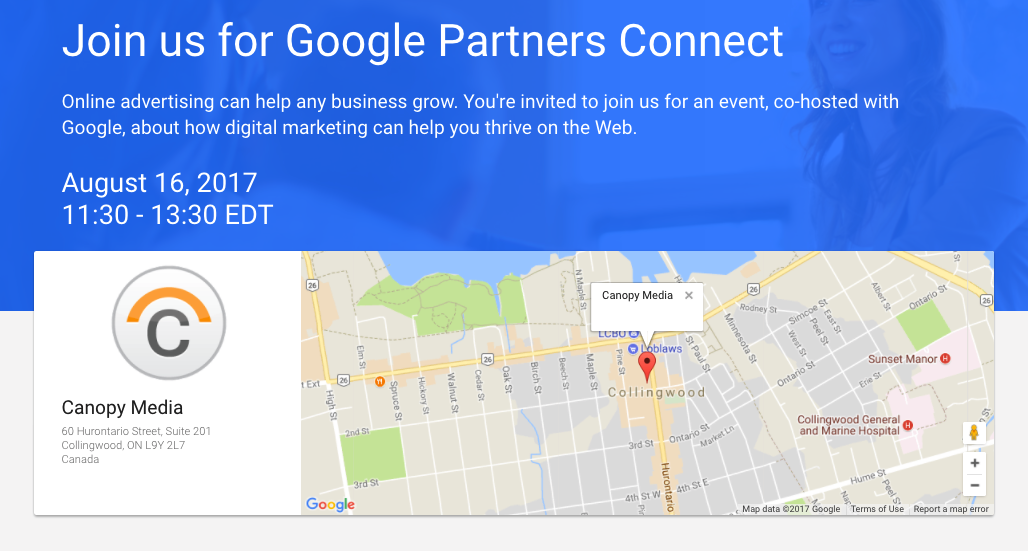 Join Us & Google August 16 – Digital Marketing For The Retail Industry