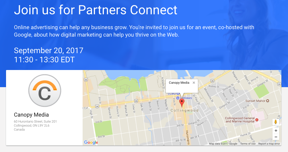 Join Us & Google Sept 20 – B2B Digital Marketing