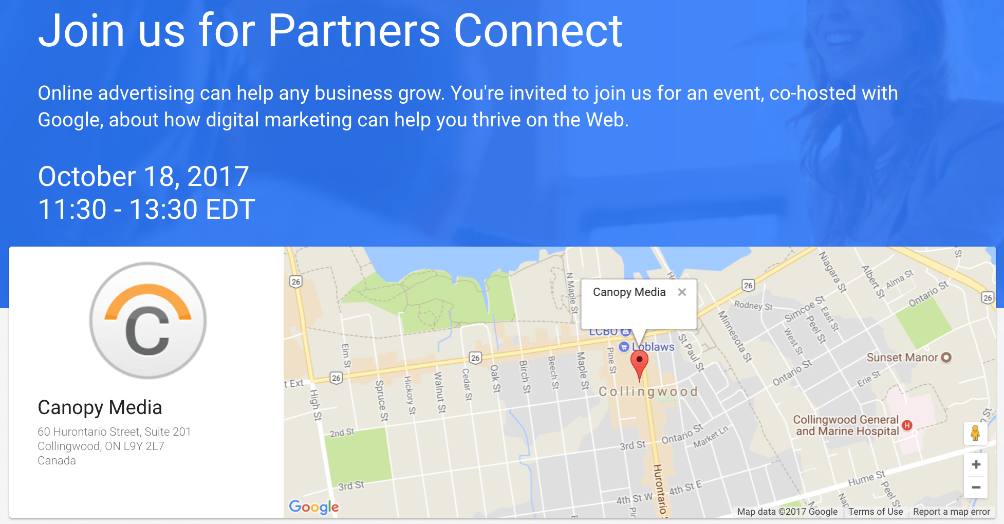 Join Us & Google Oct 18 – Digital Marketing for Healthcare Providers