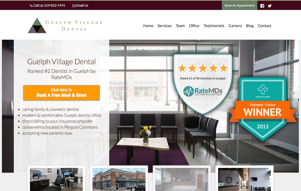 guelph-village-dental-digital-marketing-services