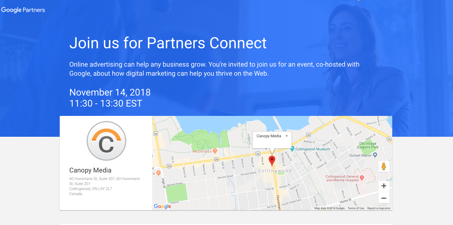 Join Us & Google November 14th – B2B in the Age of Assistance