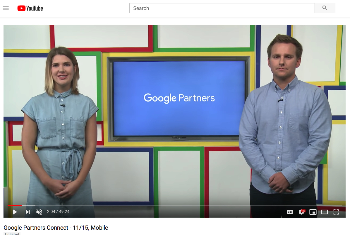 Re-watch the Livestream – Google Partners Connect – Mobile Strategy For Your Digital Marketing