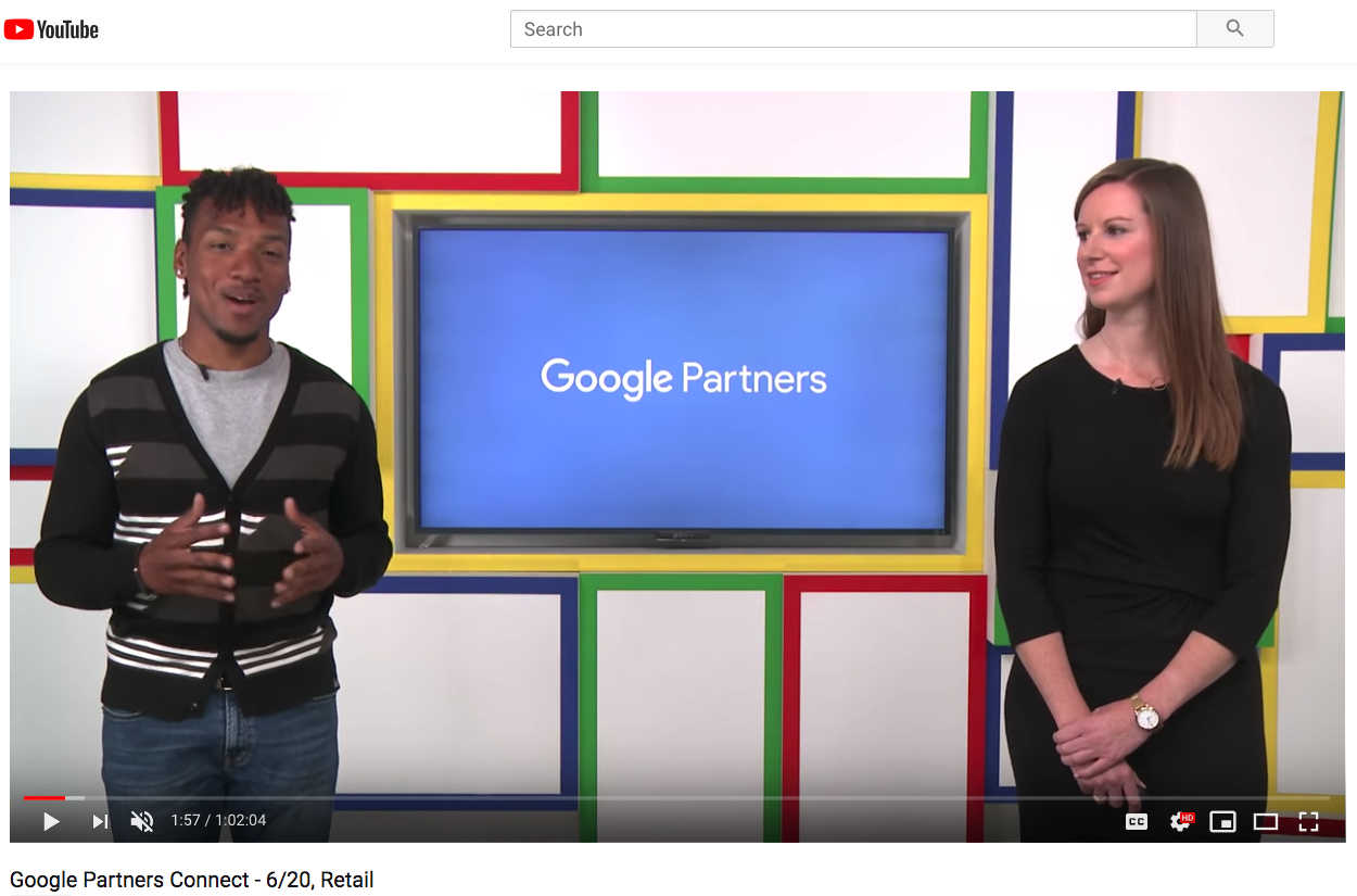 Re-watch the livestream – Google Partners Connect – Digital Marketing For Your Retail Location