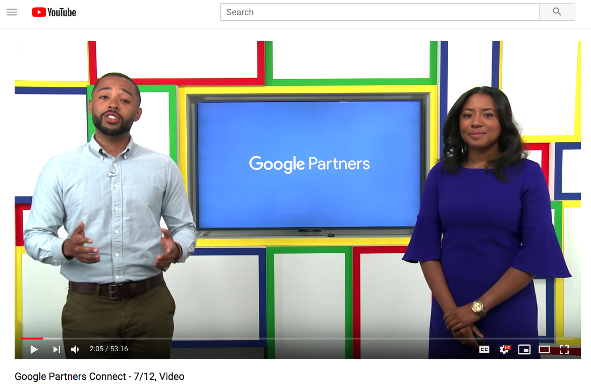 Re-watch the livestream – Google Partners Connect – Grow Your Business With YouTube