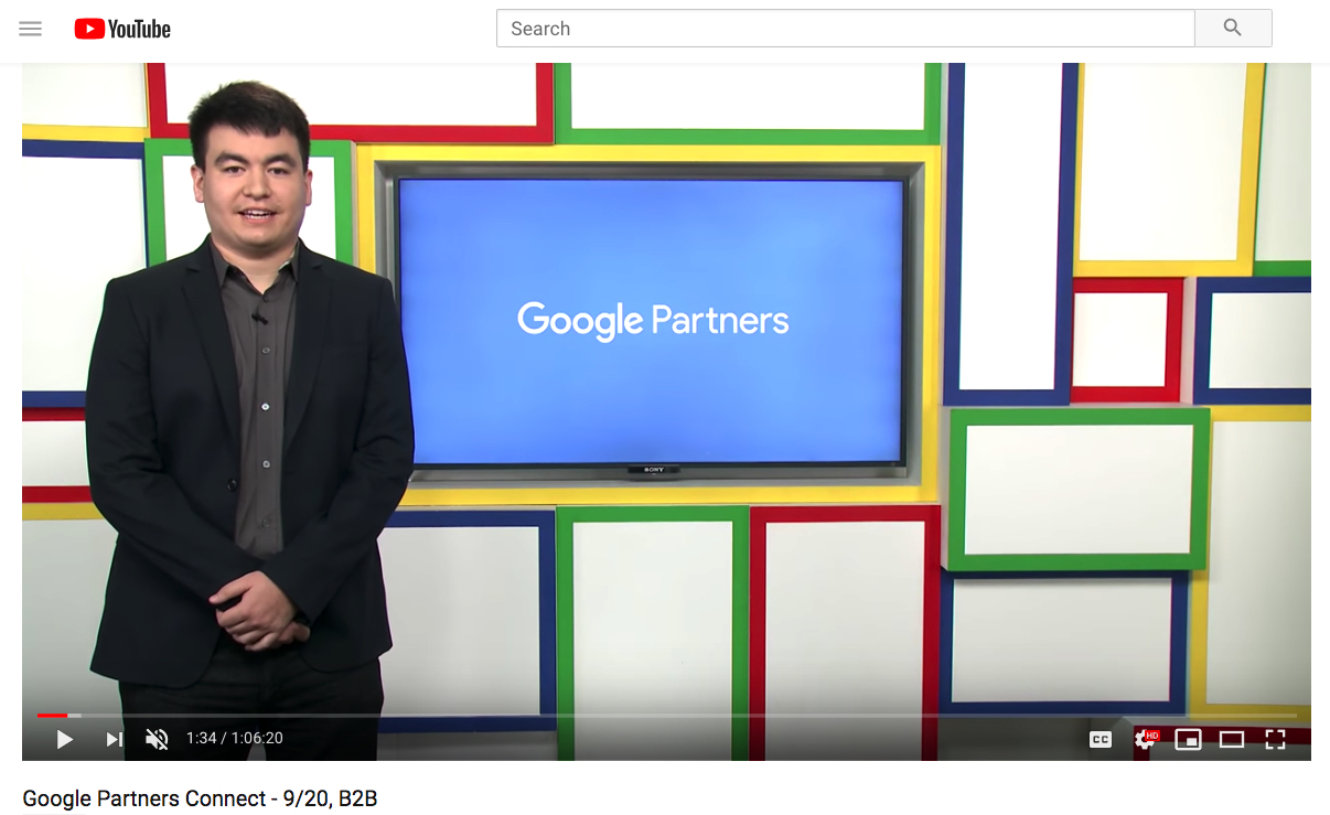 Re-watch the livestream – Google Partners Connect – B2B Digital Marketing